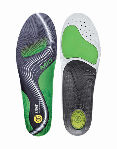 Sidas 3Feet Active Mid Prefabricated Insoles-aussieskier.com