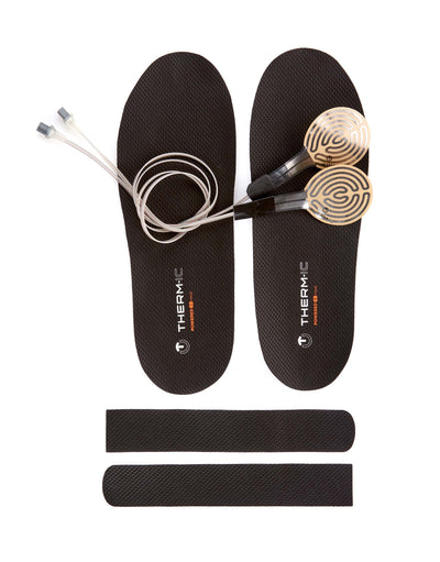 Therm-ic Heat Kit: Heated Insole & Therm-ic C-Pack 1300 Battery-1300 Battery-aussieskier.com