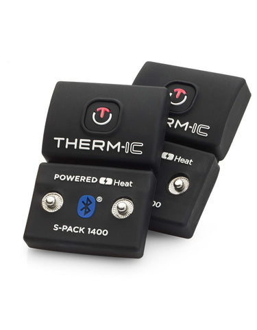 Therm-ic Mens Heated Socks + S-Pack 1400B Battery Pack-aussieskier.com