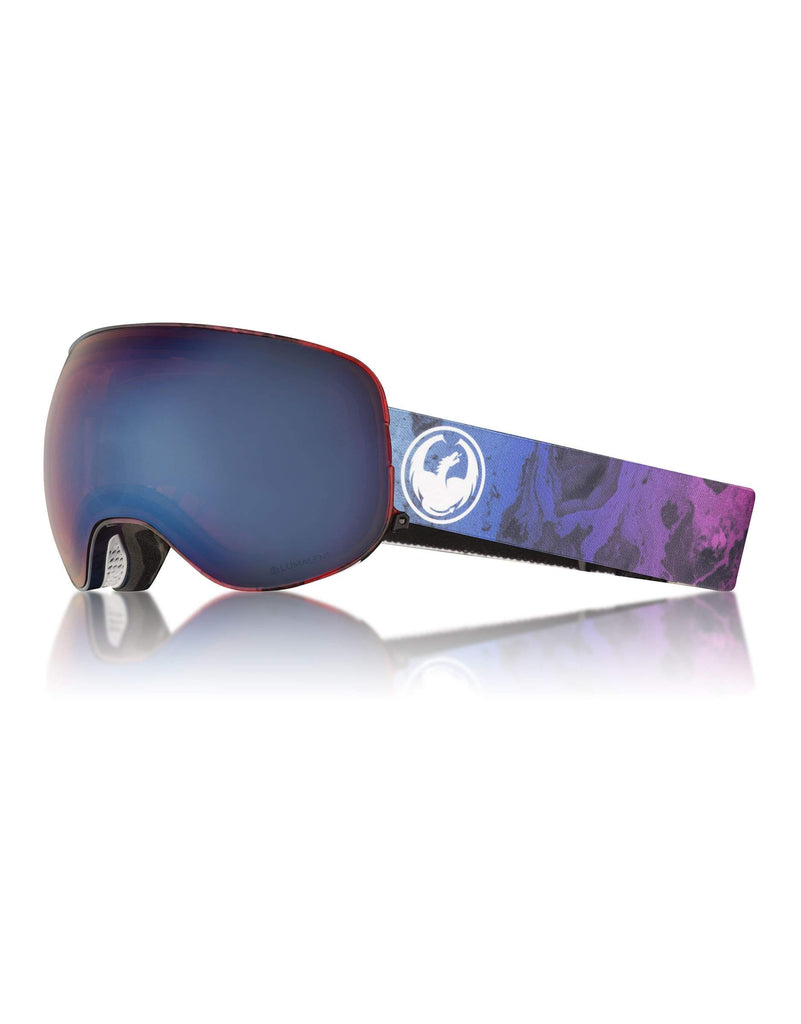 Dragon X2 Ski Goggles w/ Interchangeable Lens-Ink / Lumalens Blue Ion + Lumalens Rose Spare Lens-aussieskier.com