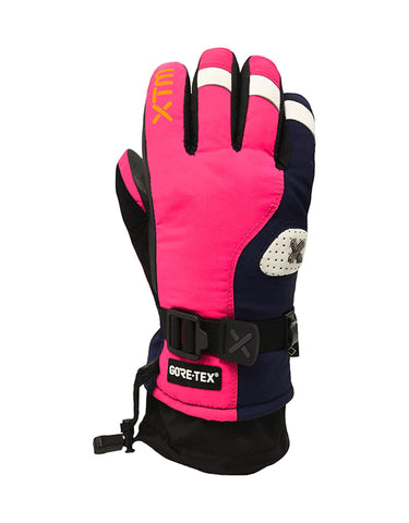 Image of XTM Aspen Kids Ski Gloves-X Small-Hot Pink-aussieskier.com