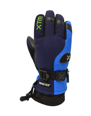 Image of XTM Aspen Kids Ski Gloves-X Small-Navy-aussieskier.com