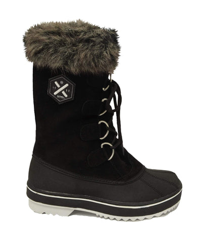 Image of XTM Juno Womens Apres Boot-36-Black-aussieskier.com