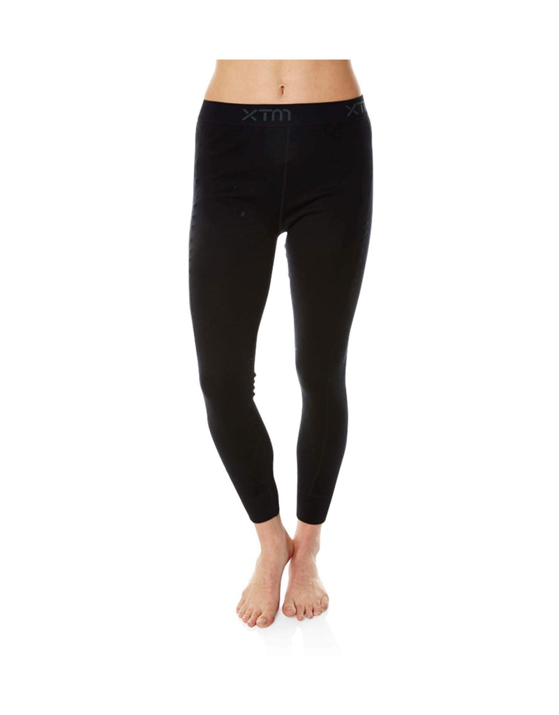 XTM Ladies Merino Thermal Pant 230gsm-8-Black-aussieskier.com