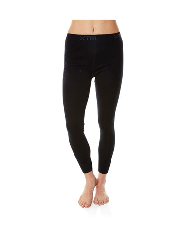 Image of XTM Ladies Merino Thermal Pant 230gsm-8-Black-aussieskier.com