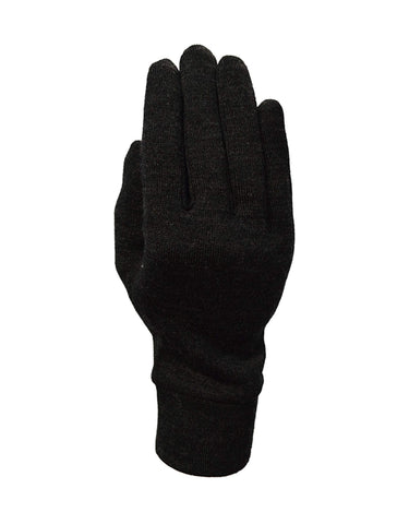 Image of XTM Merino Inner Gloves-Small-Dark Grey-aussieskier.com
