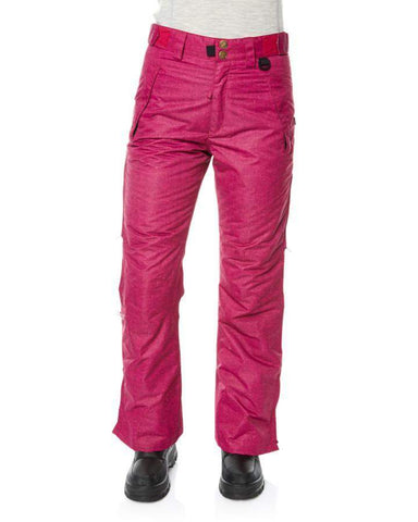 Image of XTM Womens Smooch II Ski Pants-8-Pink-aussieskier.com