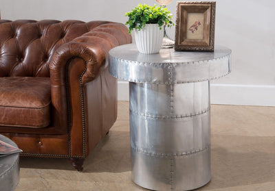 Grant Circular End Table