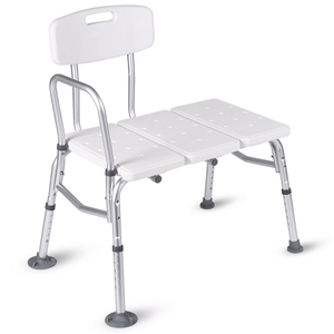 UncleCart® UPGRADED Fall Prevention Shower Bench - Maximum Safety