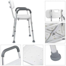 Load image into Gallery viewer, UncleCart® Fall Prevention Shower Chair - Adjustable Height