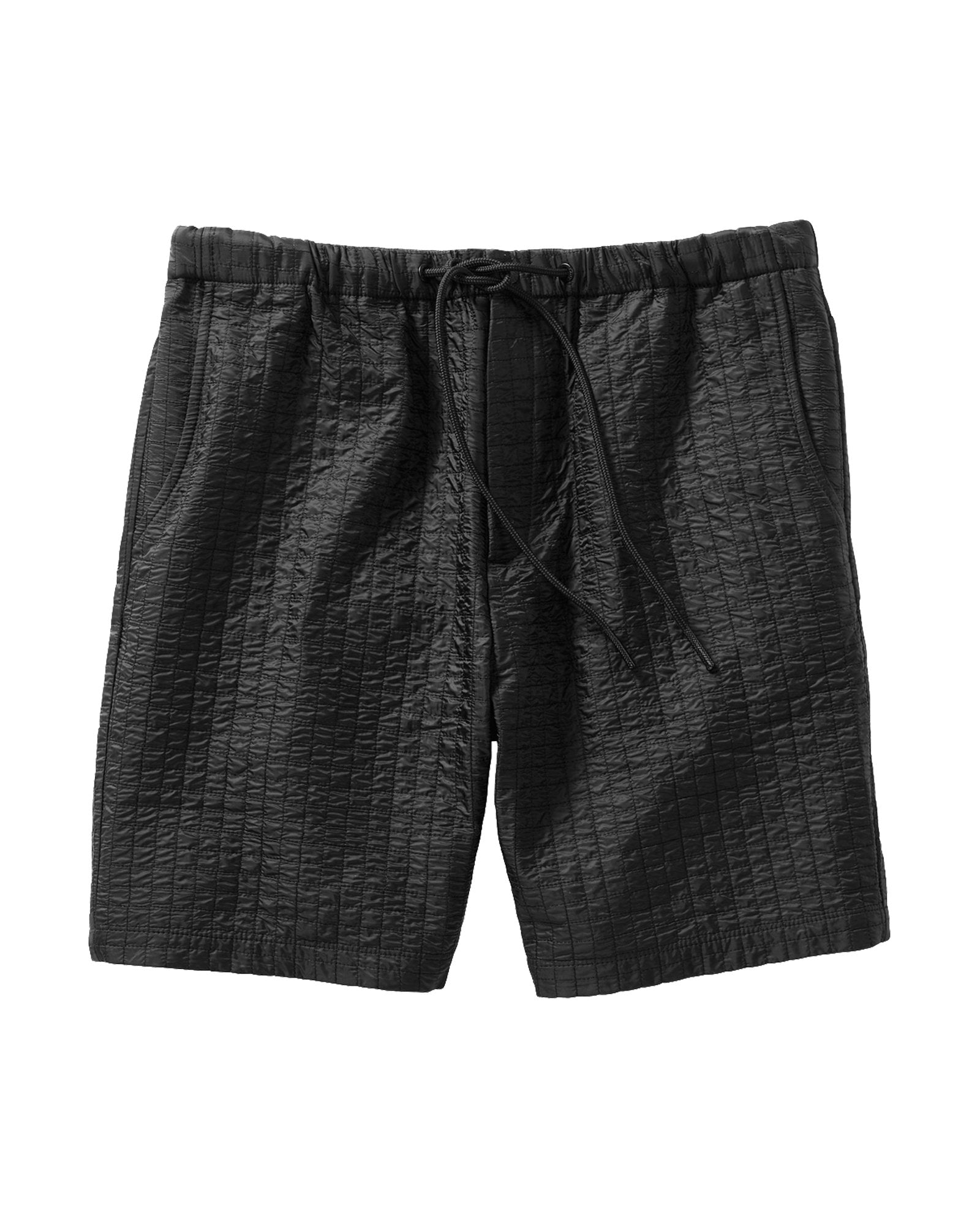 Jersey Lined Micro Quilted Nylon Short