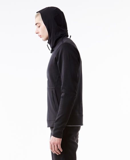 Taped Zip Hoody