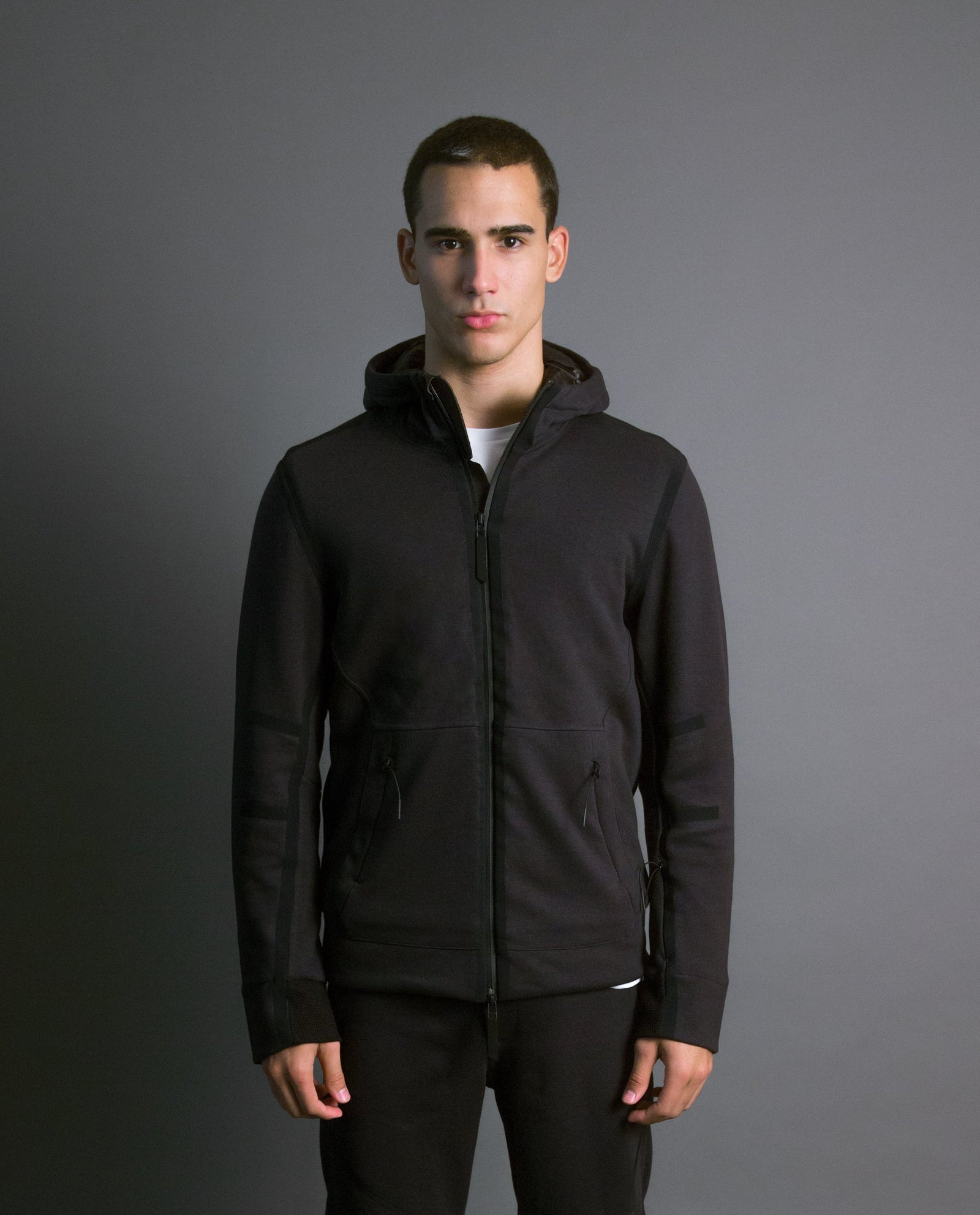 CIRCUIT HOODED ZIP