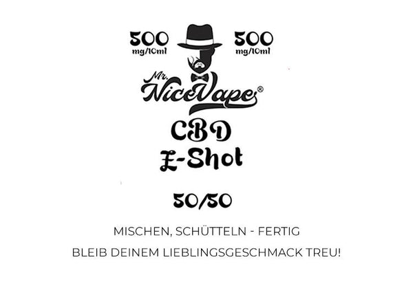Mr. NiceVape CBD E-Shot PG-VG 50/50