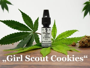 "Mr. NiceVape CBD Hemp E-Liquid ""Girl Scout Cookies"""