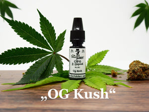 "Mr. NiceVape CBD Hemp E-Liquid ""OG Kush"""