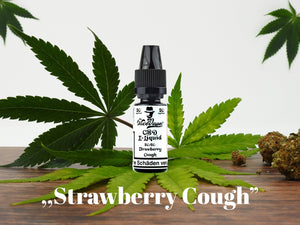 "Mr. NiceVape CBD Hemp E-Liquid ""Strawberry Cough"""