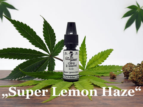 "Mr. NiceVape CBD Hemp E-Liquid ""Super Lemon Haze"""