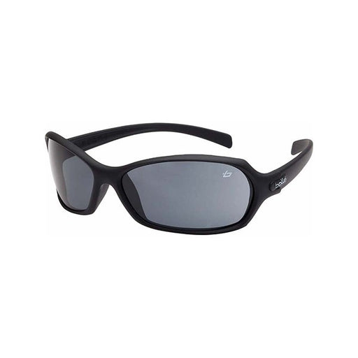 Bolle Hurricane Safety Glasses (Smoke Lens - Black Frame)