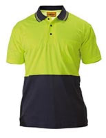 2 TONE HI-VIS SHIRT - SHORT