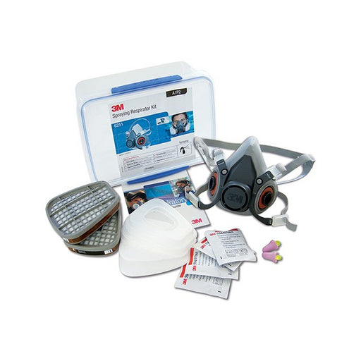 3M RESPIRATOR SPRAYING STARTER KIT