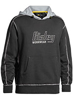 FLEX & MOVE CONTRAST HOODIE WITH BISLEY LOGO