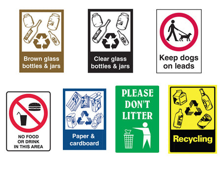 RECYCLING & LITTER SIGNS