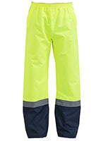 TAPED TWO TONE HI-VIS SHELL RAIN PANTS