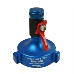 "Temporary Water Spigot 2.5"" NH x GHT"