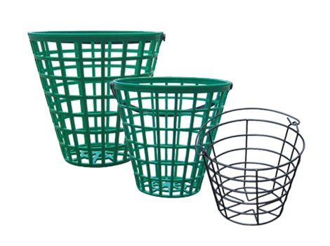 PLASTIC & METAL BALL BASKETS