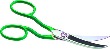 CURVED TRIMMING SCISSORS
