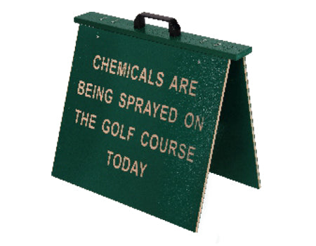 CHEMICAL SPRAY SIGN