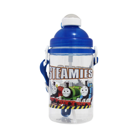 Thomas & Friends Canteen PopUp Straw Water Bottle Kitchenware 500ml 10-25-0040