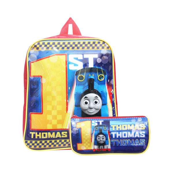 "Thomas & Friends No.1 Thomas 2in1 Stationery & Backpack 12"" 10-51-0005"