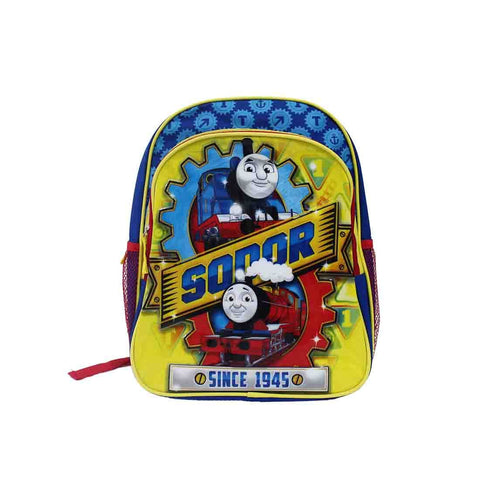 "Thomas & Friends 14"" Metalic Backpack"