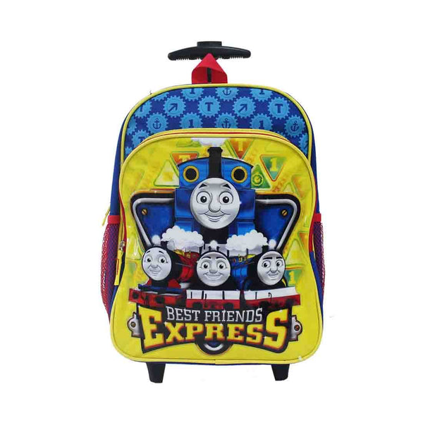 "Thomas & Friends 14"" Metalic Rolling Backpack"
