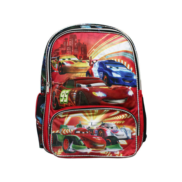 "Cars Neon Racers Backpack 16"" 26-71-0035"