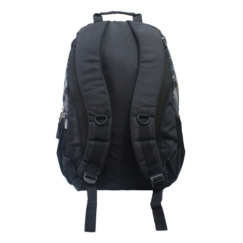 Cars Black & Orange CG Backpack 16