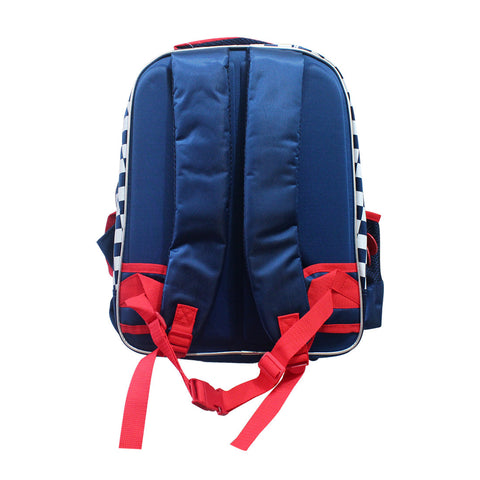 Cars Navy Blue Backpack 16