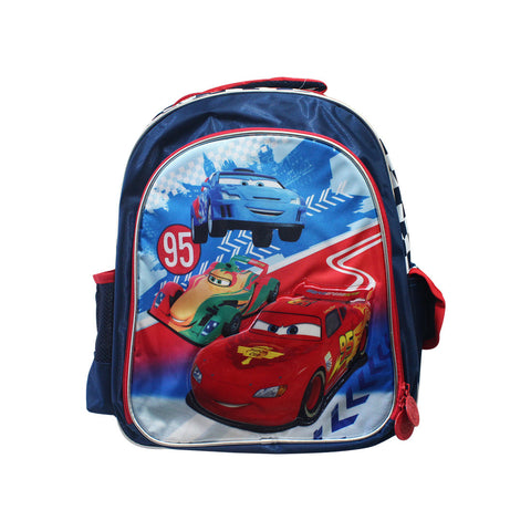 "Cars Navy Blue Backpack 16"" 26-71-0049"