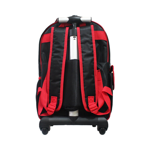 Cars Red Rolling Backpack 16