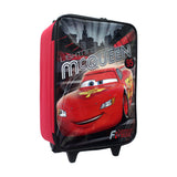 "Cars Red McQueen Rolling Luggage 16"" 26-72-0028"