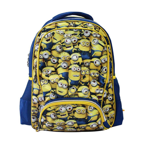 "MINIONS Pattern Collection 16"" Backpack 28-71-0024"
