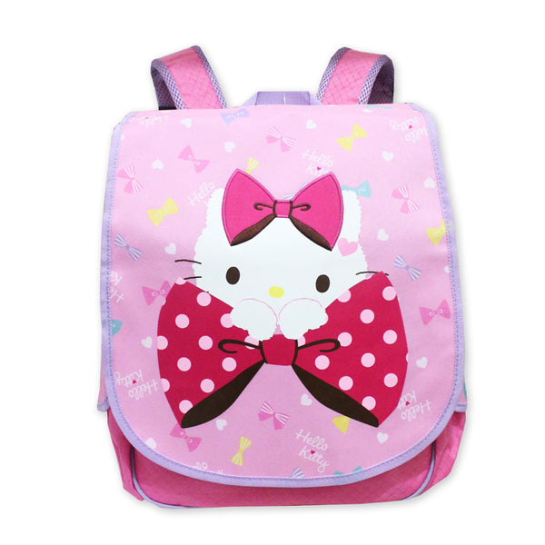Hello Kitty Ribbon Backpack Purple 16Inch 50116-00225