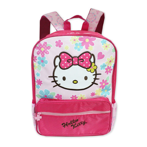 Hello Kitty FLOWER Backpack Pink 16Inch 50116-00241