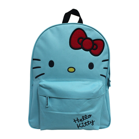 "Hello Kitty Miminashi Backpack Turquoise 16"" 50116-00256"