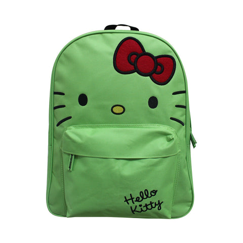 "Hello Kitty Miminashi Backpack Green 16"" 50116-00257"