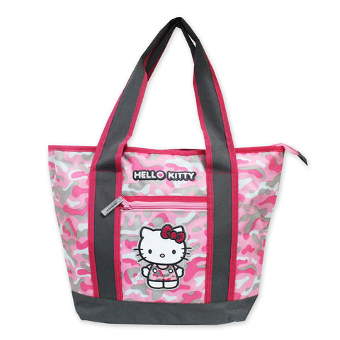 Hello Kitty Camouflage Shoulder Tote Bag 50117-00459