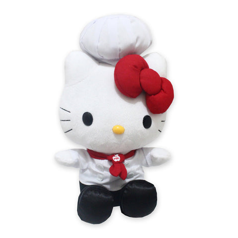Hello Kitty CHEF OCCP KT Plush White 8inch 50129-00266