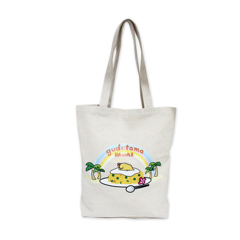 Gudetama Rice W Tote Bag Canvas 56717-00001
